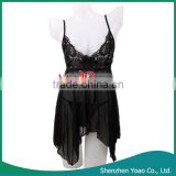 Full Sexy Photos Girls Lingerie With T-Back Black