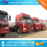 SINO TRUCK HOWO tri-axel tractor truck