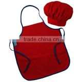 Guangzhou factory kids chef hat and apron