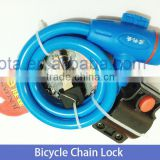 Bike Lock/Bicycle Lock Steel Spiral /Cable for sale in bulk
