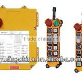 hoist remote controller 10 push buttons Double speed F21-10D-2TX industrial hoist wireless remote control