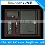 2015 Luxury wedding gift pen set together with roller pen business card holder and notebook