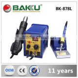 BAKU Trending Hot Products 2016 Intelligent system bga hot air double digital smd rework station BK-878L