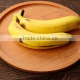 round wooden Eco-friendly fruit tray, kids dinner plate ,Western Food storage tray