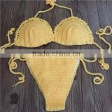 Cowrie Shell Crochet swimsuit