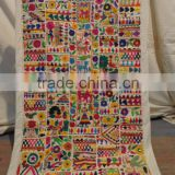 indian patchwork tapestry