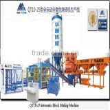 QT10-15 automatic Hollow Block Making Machine Type and Brick Molding Machine Processing Concrete Fence Wall Machine