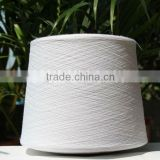 Raw white 30s/1 polyester staple yarn for socks
