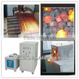 Best price IGBT generator heater induction hot forging machine for nails bolt nuts forging