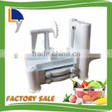 High quality stainless steel carrot grater plastic spiral vegetable spiral slicer