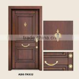 turkey Steel wooden Armored door / New design armored door