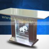 chinese small wood display stand metal cell phone case,mobile showcase, Safely Display Security Cell Phone Retail Display Stands