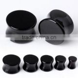 Black cool ear plug Body Piercing Tunnel piercing