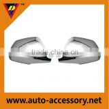 car spare parts chrome side mirror cover for cadillac