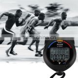 3 Row Electronic Handheld Stopwatch Time Counter PC2330