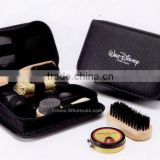 Pu case Deluxe Shoe Shine Kit,8-in-one