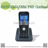 "SC-9068-GH3G 3G WCDMA GSM Fixed Wireless Phone Cordless with Bluetooth, Color TFT LCD 2.4"", Dock Power Charger"