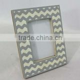 Mdf photo frame With Covered Border of White Bone, Picture Frame