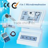 (Au-703A) Salon use LED therapy acne treatment facial skin care machine with diamond dermabrasion