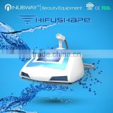 2014 china wholesale nubway hifushape focused ultrasound slimming weight loss beauty machine with best quality with no pain