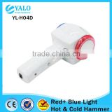 YL-H04D 3 IN 1 Blue and Red led light Hot and cold hammer
