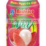 Bidrico Carbonated Lychee Softdrink 24 Can