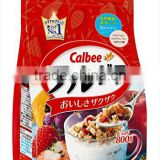 INquiry about Calbee Fruit Granola Cereal