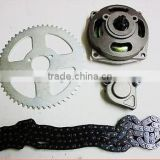 49cc 6T Clutch Drum Bell Housing +T8F Chain +Sprocket 49cc Pocket Quad Dirt Bike ATV