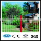 Wholesale China CE&ISO certificated white pvc coated welded wire mesh fence(Pro manufacturer)