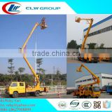 Discount Price 8-22m Double Cabin High Altitude Operation Truck,Used Aerial Platform Machine