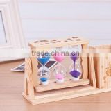 30 minutes wooden hourglass/sand timer/sand clock
