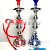 metal & glass hookah