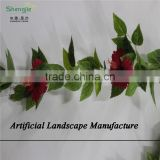 SJZJN 2549 decorative artificial hanging plants,artificial hanging leaves hot sale in china