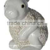 Ceramic animal planter