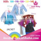 Wholesale boutique down baby winter coats with fluffy wig