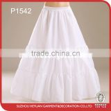 P1542 Wholesale Wedding Satin Rock and Roll Dress Petticoat for Bridal
