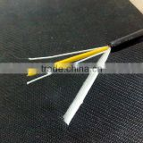 Aerial self-sustaining Non-metallic FRP strength single mode fiber optic cable