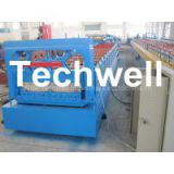 PLC Cold Roll Forming Machine for Secret Joint / Clip Lock / Tapered Bemo / Taper Roof Panel