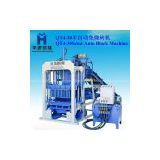 QT4-30 semi-automatic cement hollow block making machine
