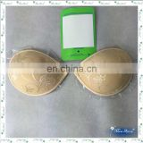 Missadola comfortable jacquard nude mature silicon breast bra underwear Customized Sexy Invisible Bra ( YD-LD8135)