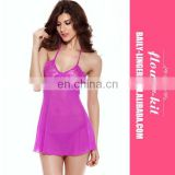 High Elasticity Valentine Rose Lace Underwear Women Sexy Adult Langerie Suit Babydoll Women's Lingerie Dress