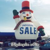 Giant Advertising Inflatable Christmas Snowman for Outdoor Show