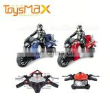 Plastic Toys Promotion 4Channel Ruggedness Simulation 2.4G Rc Motorcycle