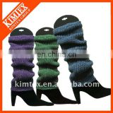 Women fashion knitted leg warmer
