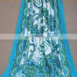 wholesale Europe and the United States printing cotton beach towel