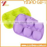 Apple shape Eco-friendly 100% food grade silicone cake mold