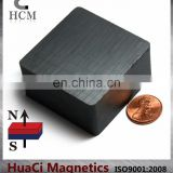 "Ferrite Magnets Block 2""X2""X1"" Hard Ceramic Magnet Block"