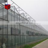 Hot sale flower farming used agricultural greenhouse for morocco