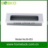 modern recessed aluminium furniture drawer handle with high quality