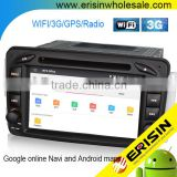 Erisin ES2507B 7 inch 2 Din Car DVD Android 4.4.4 with Canbus GPS DVR OBD Bluetooth for Mercedes